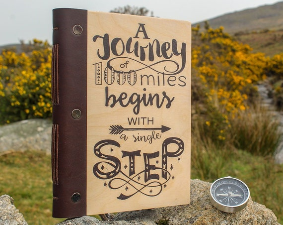 Travel Journal, Journal, Scrapbook, Photo Album, Life's Journey, Travellers Notebook, Travelers Diary, Bullet Journal,