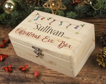 Christmas Eve Box, Family Christmas Eve Box, Personalised Christmas Gift, Memory Box, Christmas Box, Night Before Christmas, 24th December