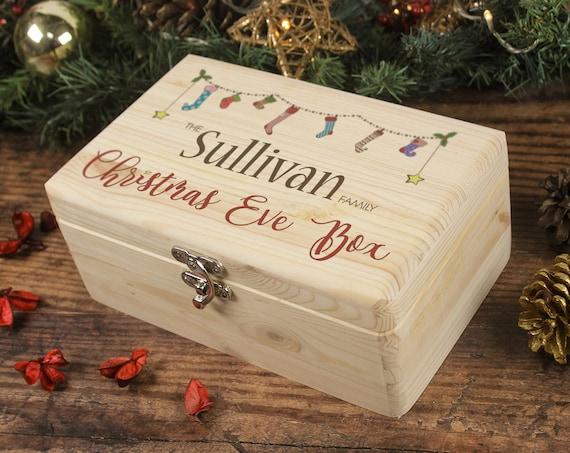 Christmas Eve Box, Family Christmas Eve Box, Personalised Christmas Gift, Memory Box, Christmas Box, Night Before Christmas, 24th December