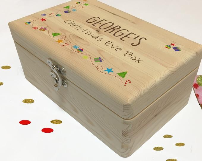 Christmas Eve Box, Child's Christmas Eve Box, Personalised Christmas Gift, Memory Box, Xmas Box, Night Before Christmas, 24th December Box
