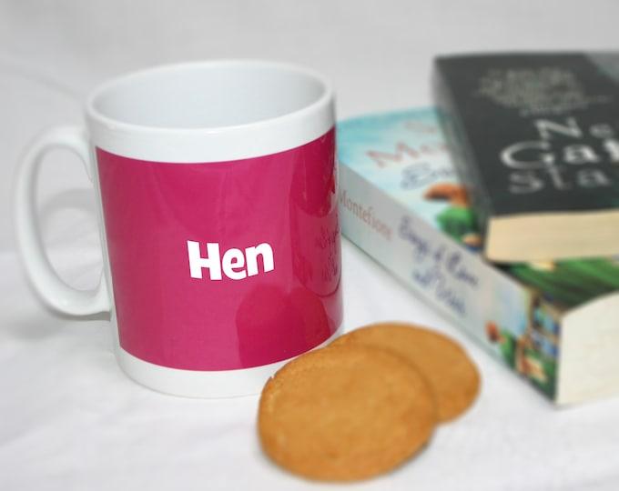 Ceramic 'Hen' Chicken Mug