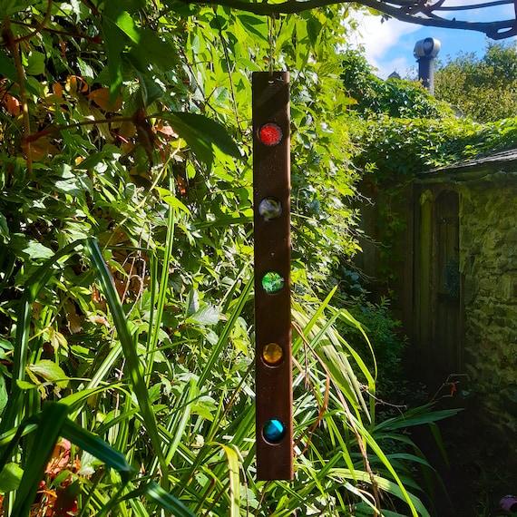 Suncatcher. Stained Glass Rainbow Sun Catcher.