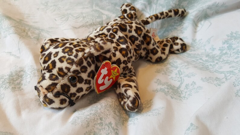 4c05862be4c Freckles Rare Beanie Retired Beanie Baby Freckles the