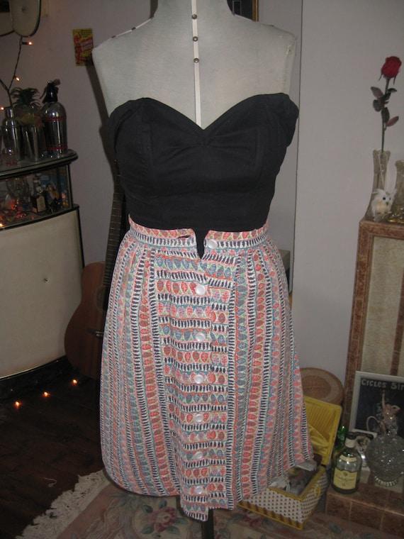 Cute 1950's handmade skirt