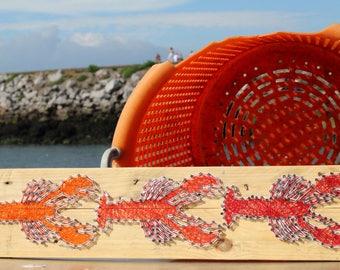 Lobster String Art