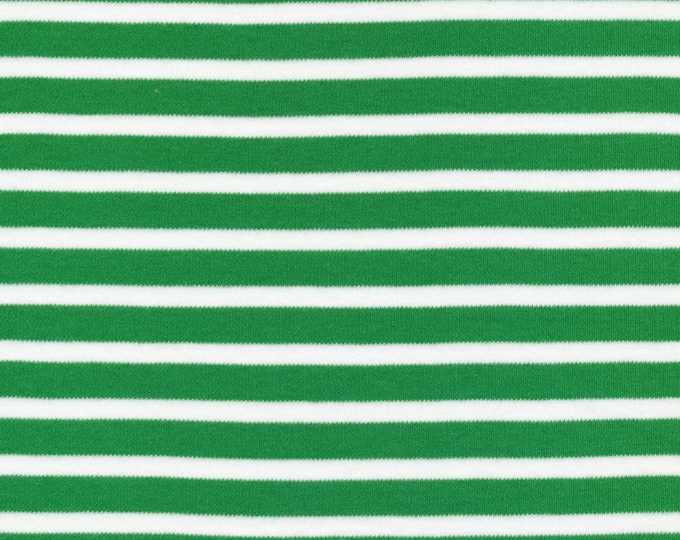 NEW!  green stripe | organic cotton t-shirt hair towel