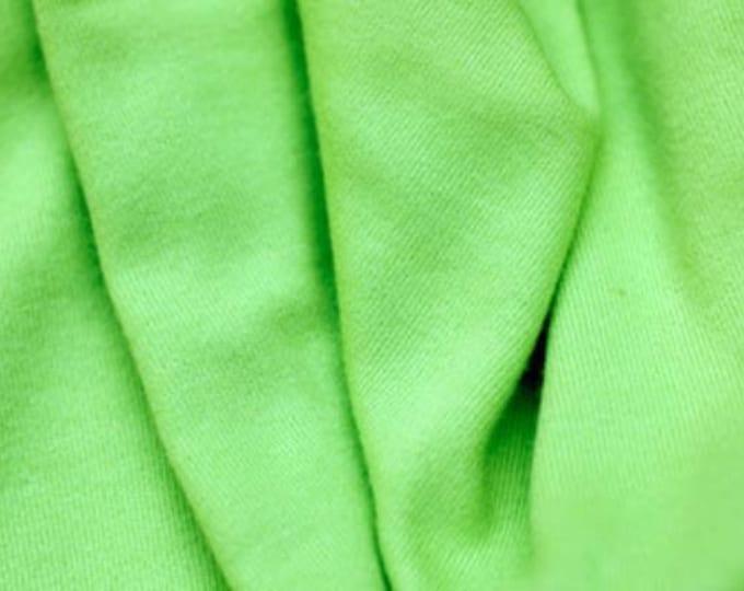 lime green solid | organic cotton t-shirt hair towel