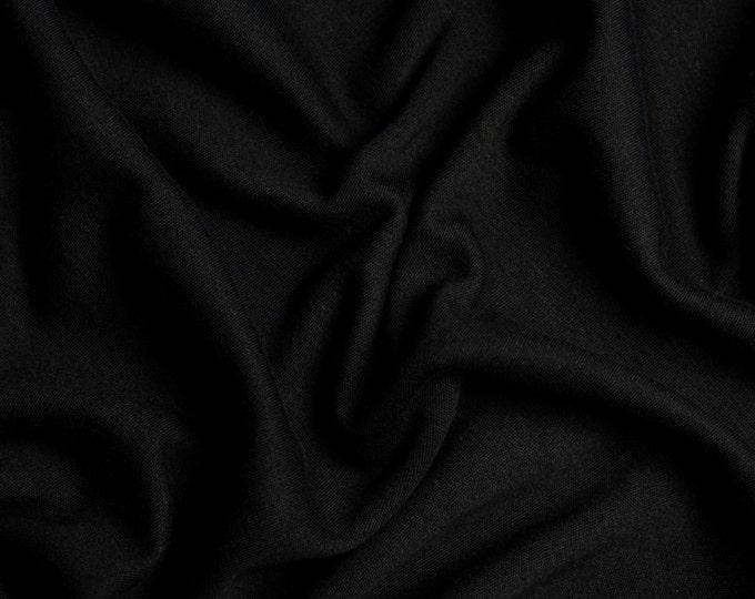 NEW! solid black | organic cotton t-shirt hair towel