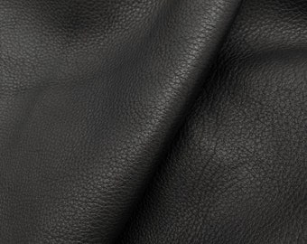 Black pearl leather Genuine sheep leather hide Black Leather material for sewing FREE SHIPPING ! Italian leather 0.8 mm