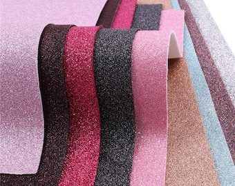 Glitter Faux Leather