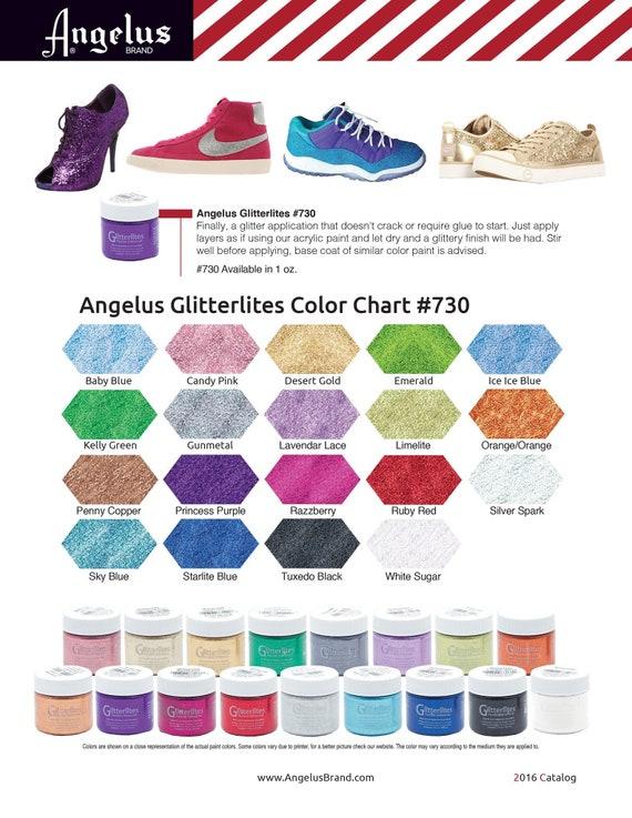 Angelus Glitterlites Glitter Paint