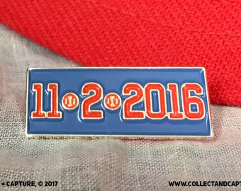 ReCapture the Magic: Chicago Cubs World Series Champs Trading Pin