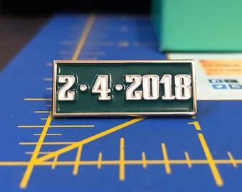 Philadelphia Eagles Pin - Philadelphia Eagles Gift - Super Bowl 2/4/18 Pin