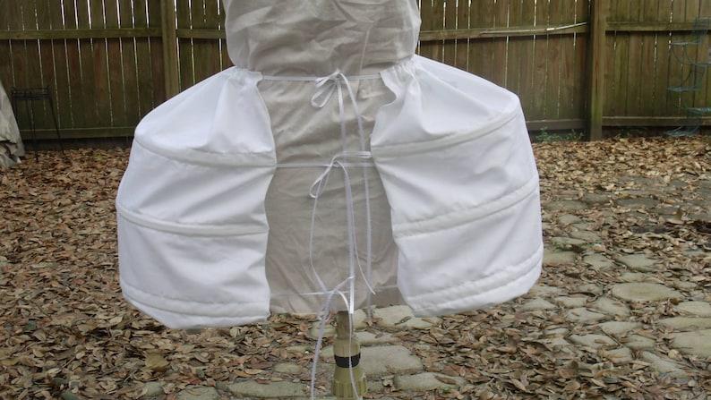 Pannier Pocket Hoops  White image 0