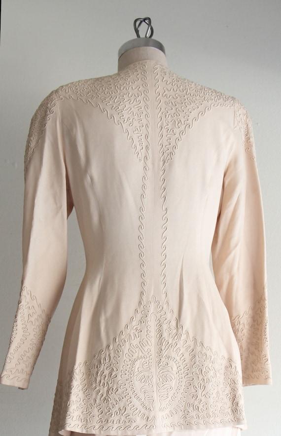 Vintage Marie St. Claire  Embroidered Blazer Jack… - image 8