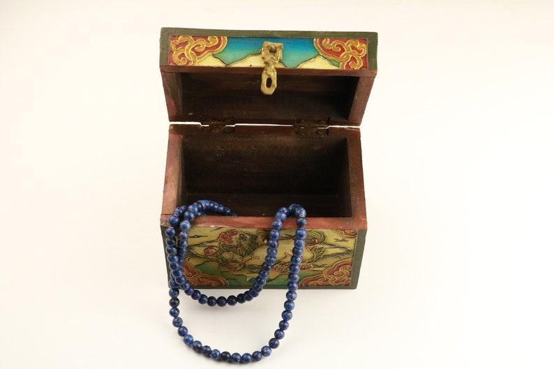 Tibetan wooden jewelry box-Tibetan jewelry box