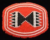 Handmade Seed Bead Handmade Vintage Belt Buckle