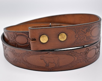 full beef leather various shills and leather to choose from hump stars Leather belt with changeable belt closure starry sky