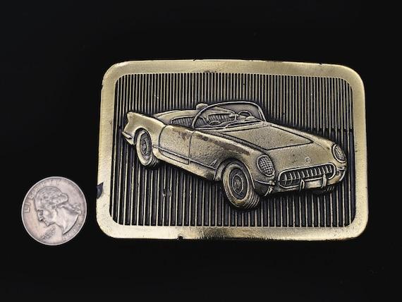 1950s Model Chevy Corvette Vintage Belt Buckle - image 3
