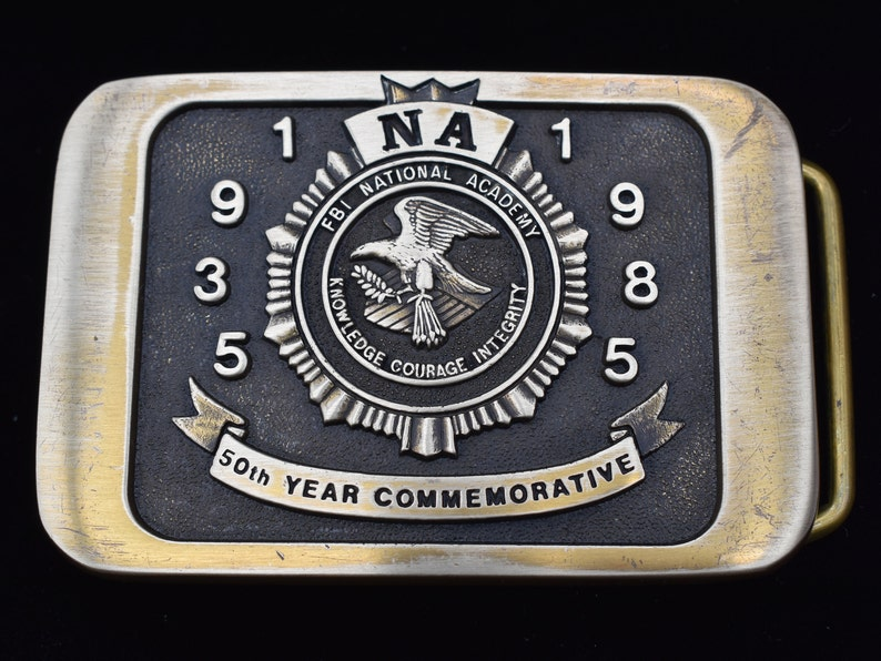 Federal Bureau of Investigation FBI National Academy 50 ...