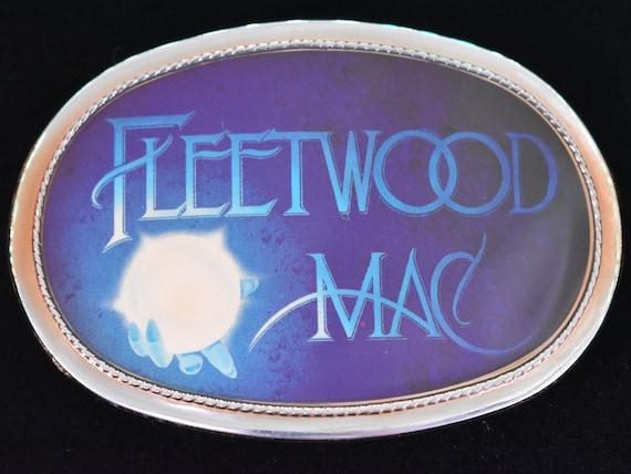 Pacifica Fleetwood Mac Vintage Belt Buckle