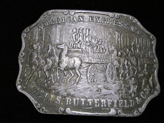 American Express Wells Butterfield & Co Vintage Be