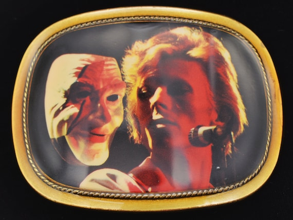 Pacifica David Bowie Vintage Belt Buckle