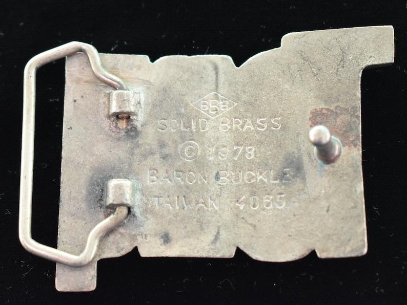 Tony Name Solid Brass Vintage Belt Buckle