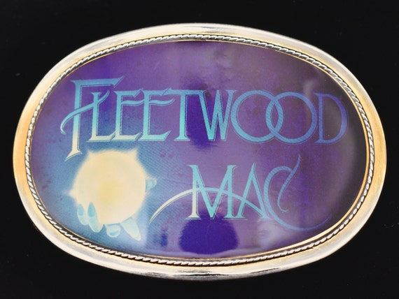 Pacifica Fleetwood Mac Vintage Belt Buckle