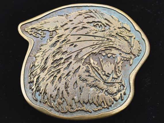 Wildcat 1970s Vintage Belt Buckle