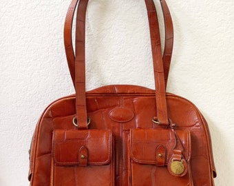 48cbc56f762 Authentic vintage Mulberry Beaufort Orleans leather bag in Chestnut