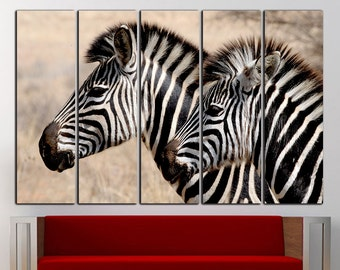 Zebra wall art Zebra wall decor Zebra canvas Zebra print Animal Wall Art Animal wall decor Animal canvas Animal print Large Canvas Decor