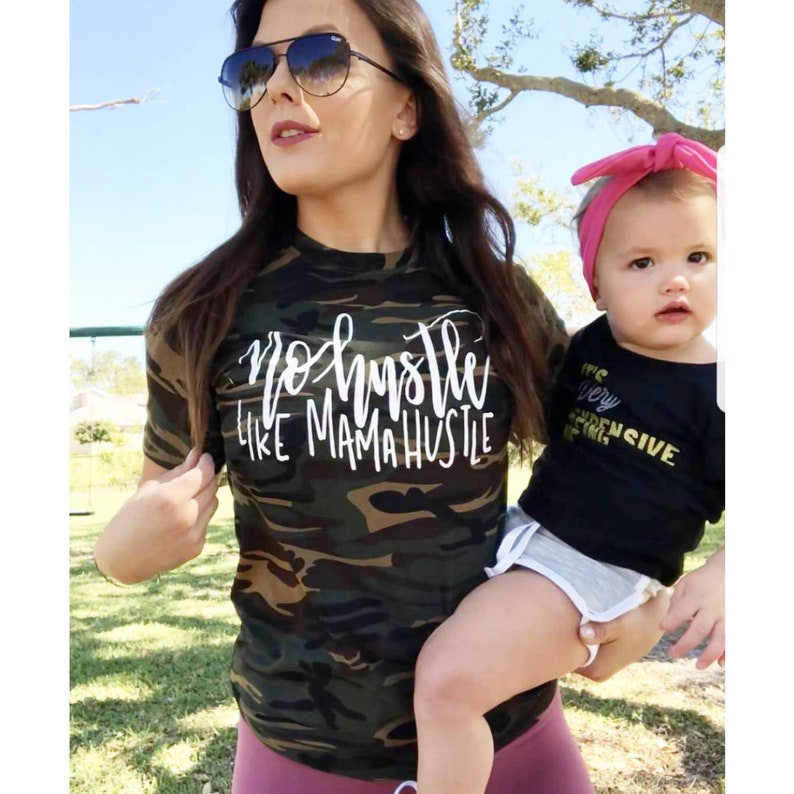6d67b6aaad No Hustle Like Mama Hustle Shirt © // Mom Shirt // Mom Life | Etsy