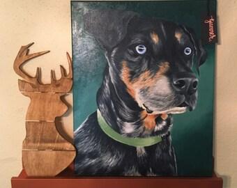 Custom Pet Portrait - Color