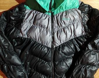 c3e74c6d5 Adidas NEO Womens Jacket Puffer Reversible Puffy Black Turquoise