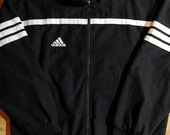 Adidas 90's Vintage Mens Tracksuit Top Jacket Khaki Dark | Etsy