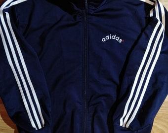 Vintage Top Adidas bleu pour s homme ' veste 90 survêtement
