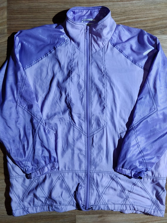 Adidas Womens Vintage Tracksuit Top Jacket Size 20 90's