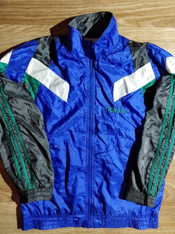 Adidas Originals 90 ' s veste Vintage Nylon Womens survêtement haut