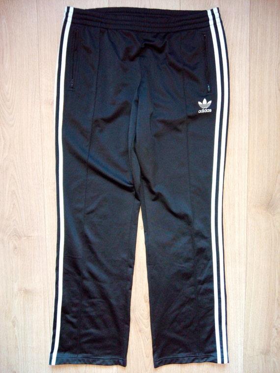 Adidas Originals 90's Vintage Womens Tracksuit Pants Black White