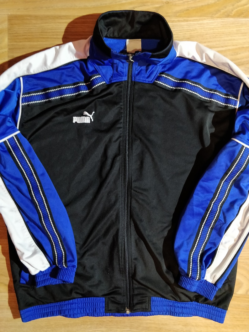 Activewear Latest Collection Of Puma Mens Tracksuit Blue Xl