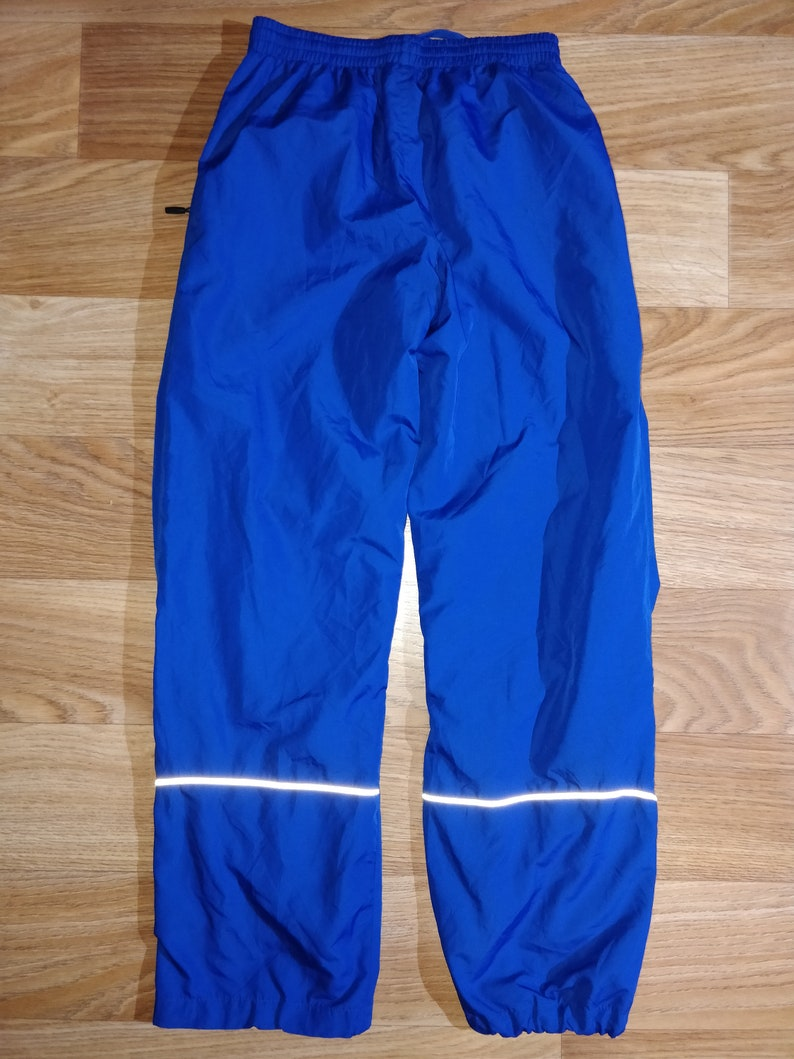 Umbro Vintage Womens Track Pants Tracksuit Trousers Running Blue