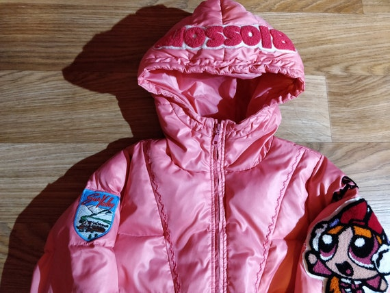 Elesy Delhor Powerpuff Girls Puffy Hooded Jacket … - image 3