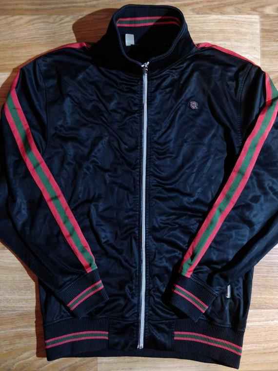 Rocawear Web Stripe Mens Sweatshirt Track Jacket H