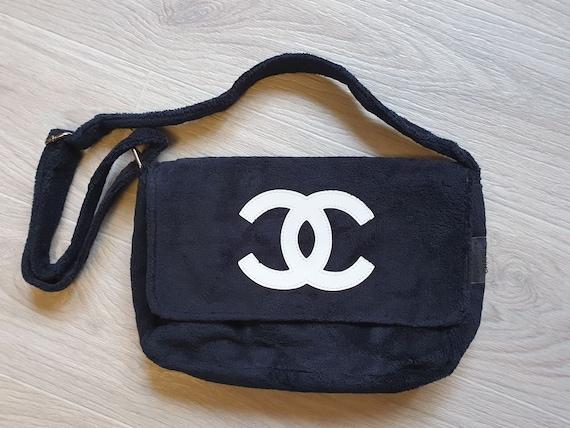 CHANEL Precision Bag Messenger Crossbody CC LOGO B
