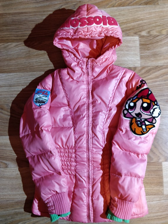 Elesy Delhor Powerpuff Girls Puffy Hooded Jacket … - image 1