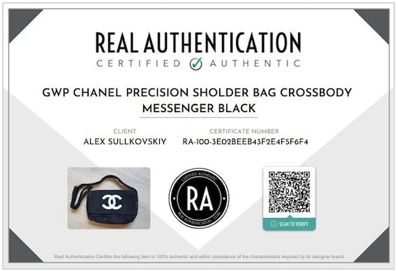 CHANEL Precision Bag Messenger Crossbody CC LOGO … - image 3