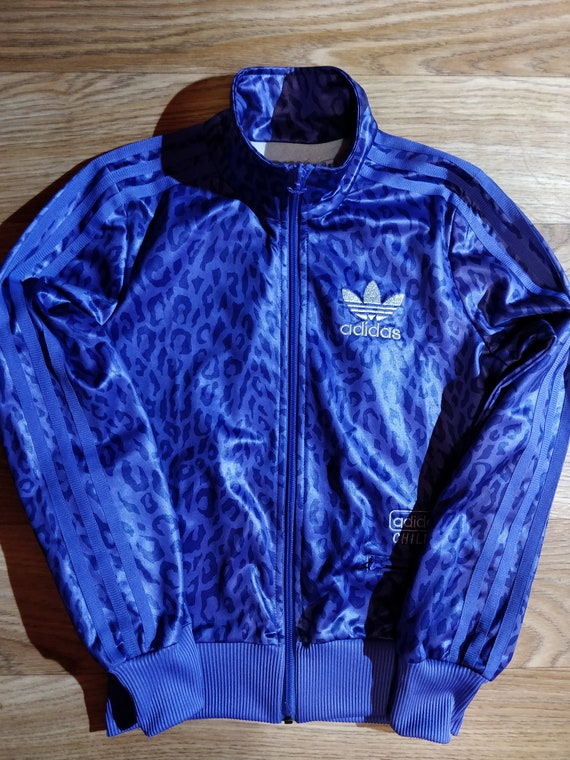 Leopard Adidas Chile Tracksuit Vintage Top 62 Purple Originals Womens Jacket w8O0knP