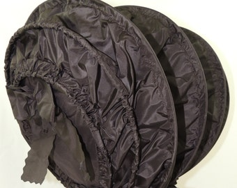 """18th Century """"Calash"""" Bonnet 1760-1790 Era, Colonial, Georgian, Historically Accurate Reproduction for Living History or Reenactment"""