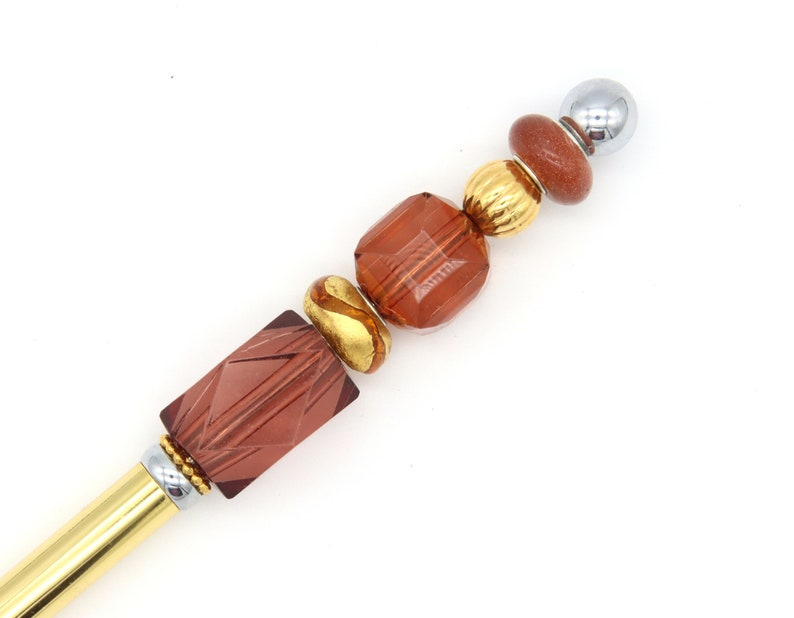 Solid Gold-Colored Fiber Tipped Stylus